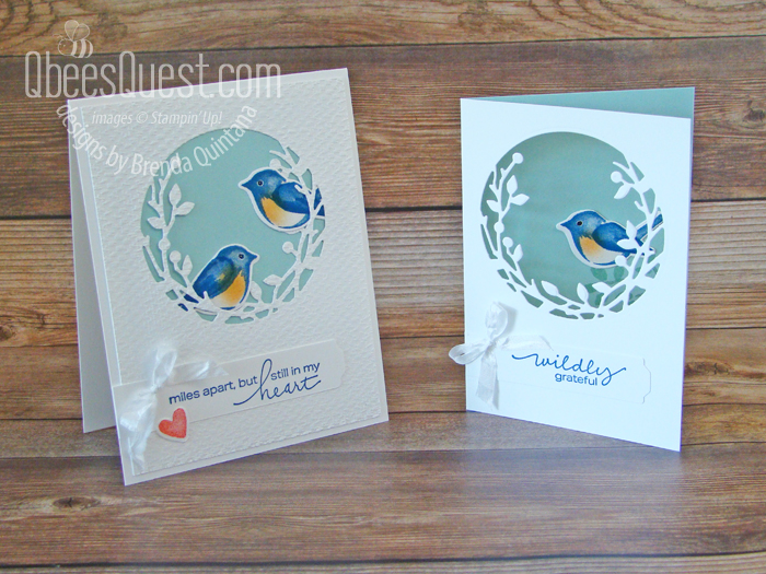 Stampin' Up Birds & Branches Cards