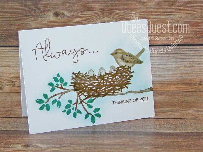 Birds & Branches No Layer Card