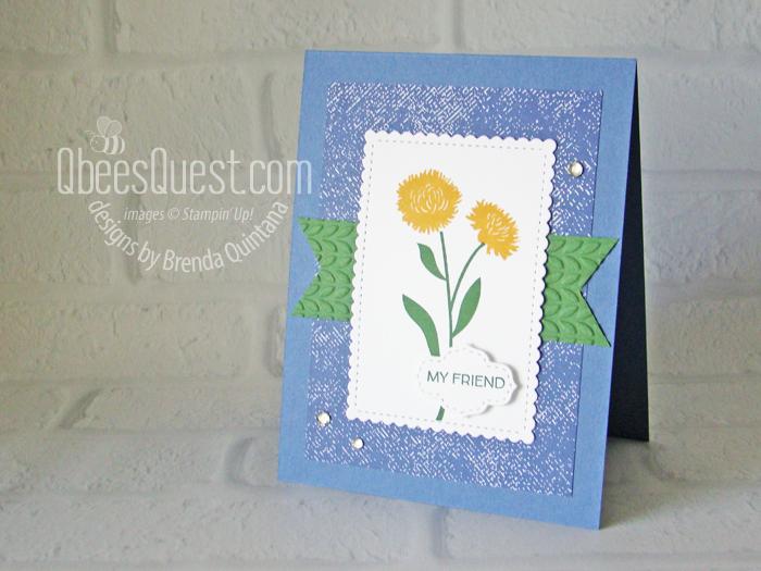 Field of Flowers Card