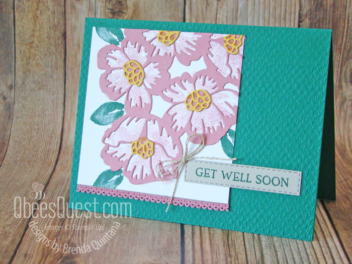 Blossoms in Bloom Get Well Card