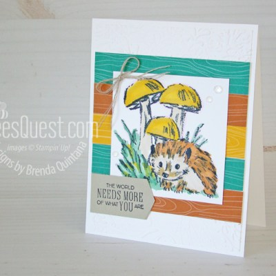 Stampin' Up Walk in the Woods Card