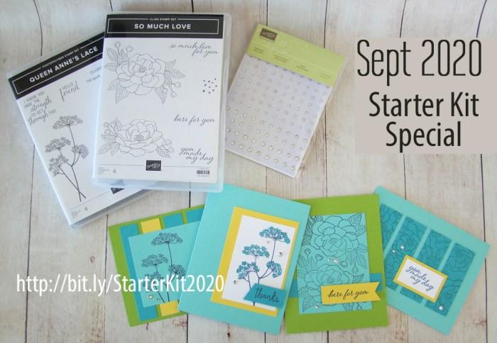 2020 Sept Stampin' Up Starter Kit Speciall Banner