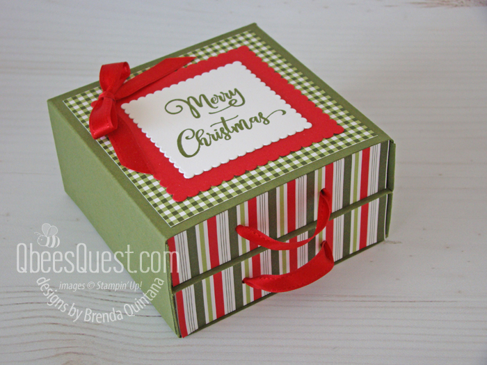 Stampin' Up 2-drawer gift chest