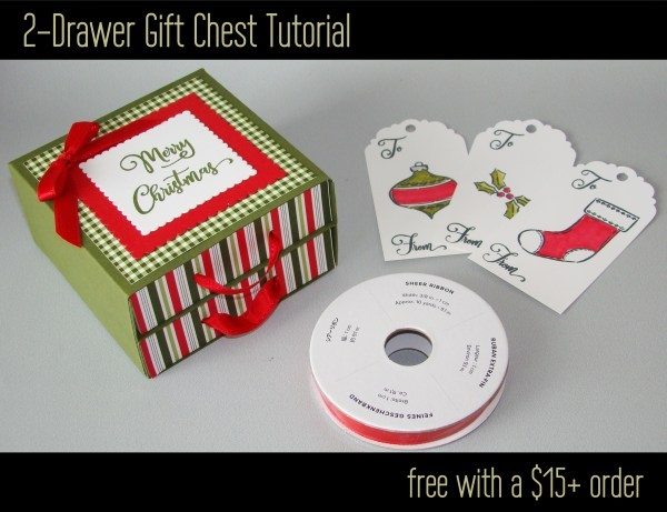 2-Drawer Gift Chest Tutorial