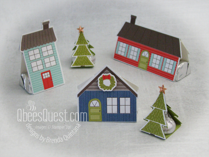Hershey's Kisses & Nuggets Christmas Town