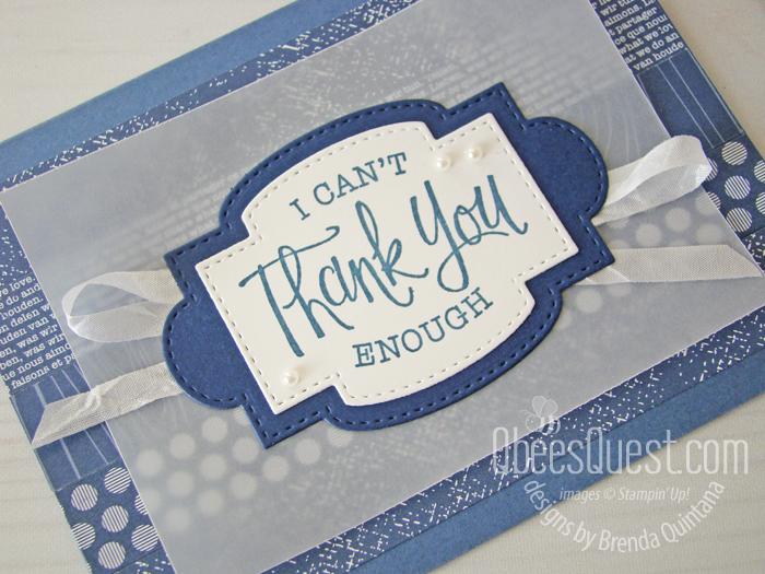 So Sentimental Thank You Card