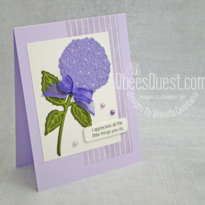 Stampin' Up Hydrangea Haven Card