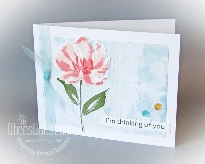 Stampin' Up Art Gallery Card