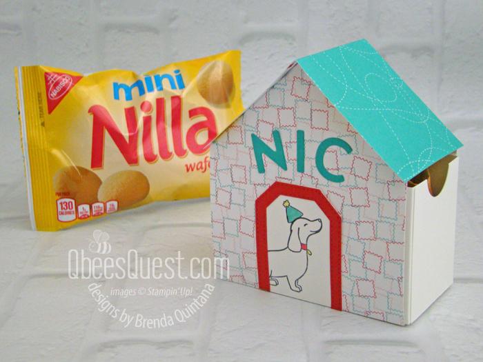 Stampin' Up Dog House Gift Box