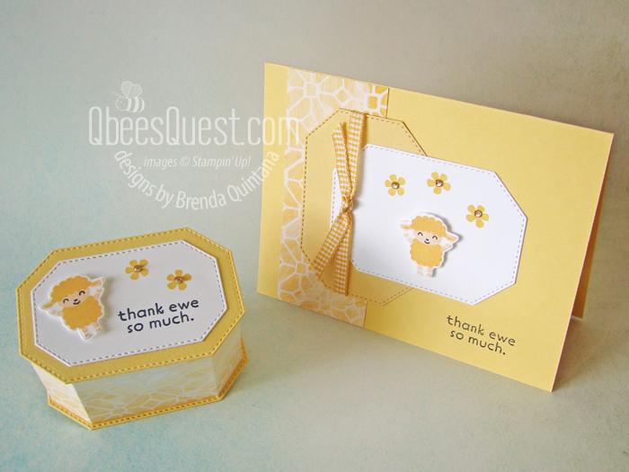 Ewe Gift Box & Card