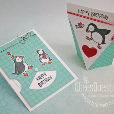 Stampin' Up Party Puffins Projects