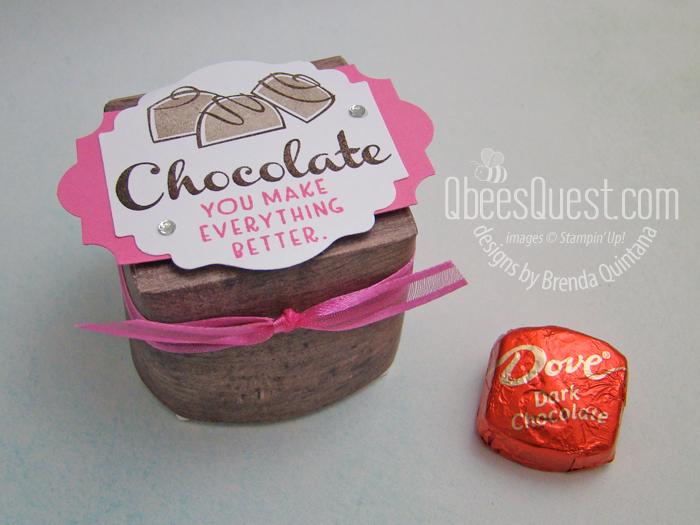 Dove Chocolate Smoosh Box