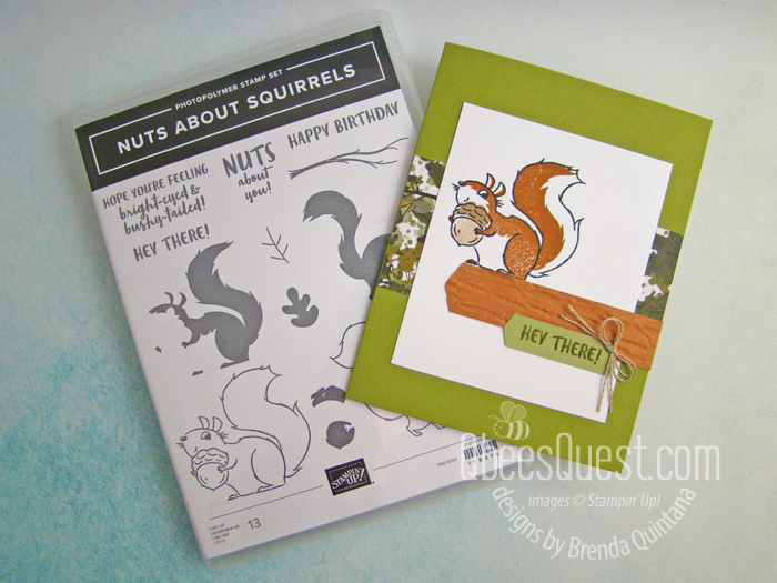 Stampin' Up Nuts About Squirrels Card