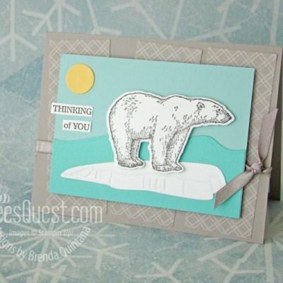 Stampin' Up Arctic Bears Card