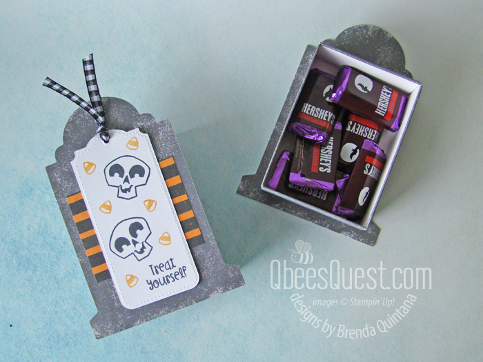 Stampin' Up Tombstone Treat Boxes