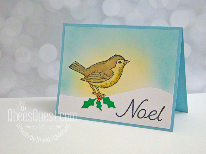 Stampin' Up Happy Holly-Days Card