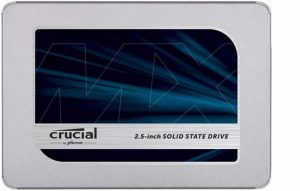 Crucial 500GB SSD