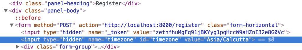 Managing users timezone in a Laravel app - QCode