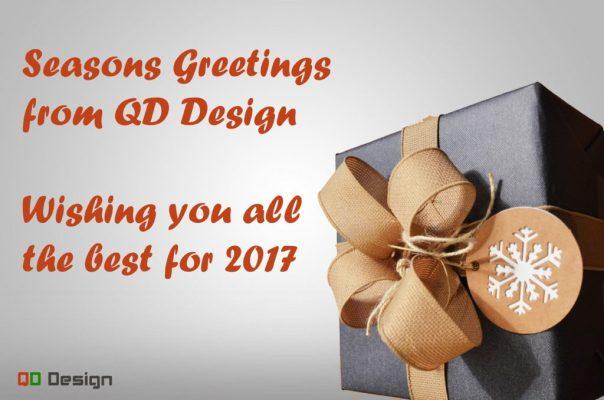Seasons greetings from QD Design