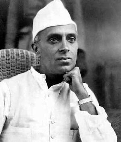 Nehru.