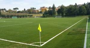 Il nuovo campo sportivo di Cupramontana