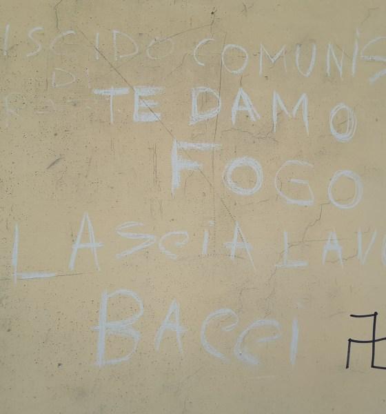 Scritta piazza Pergolesi