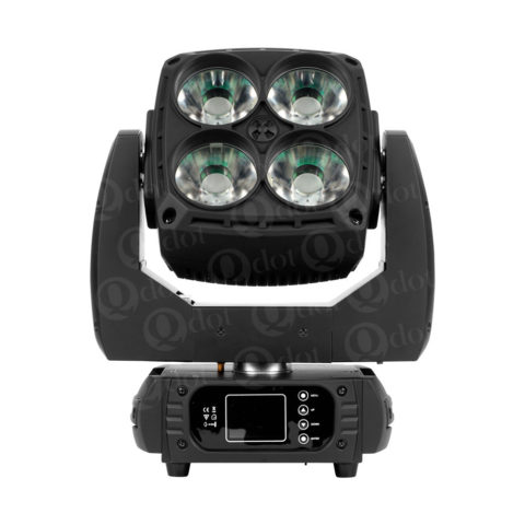 4pcs 60w osram 4in1 led panel wash moving head light