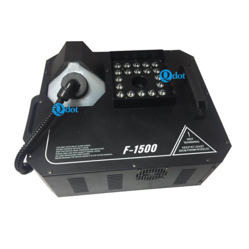 F-1500 1500W fog machine with 24pcs 3W 3IN1 RGB LEDs