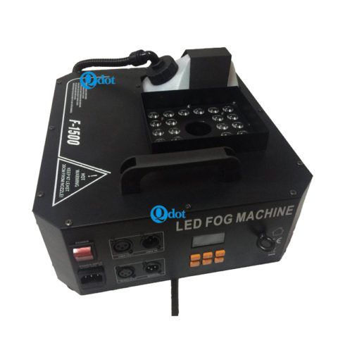 F-1500 1500W fog machine with 24pcs 3W 3IN1 RGB LEDs