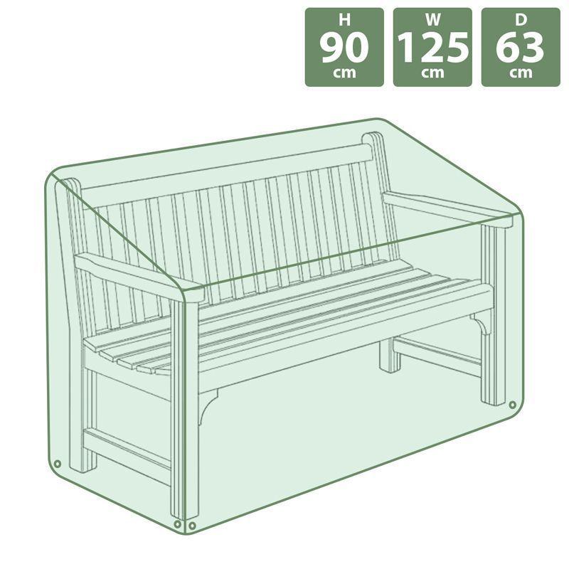 heavy duty garden patio furniture bench seat waterproof cover