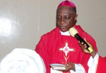 Catholic Archbishop of Lagos Adewale Martins