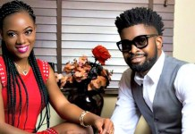 Basketmouth and wife