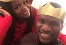 Brown Ideye and wife