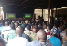 Football viewing centre