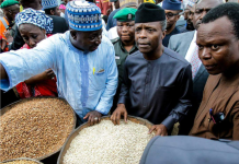 Osinbajo goes to Garki Market