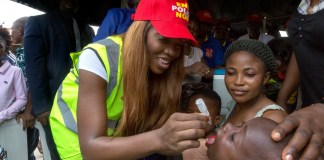 Tiwa Savage signs on as Rotary celebrity ambassador for polio eradication