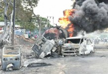 Kogi petrol tanker accident fire