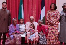 Buhari hosts young supporters