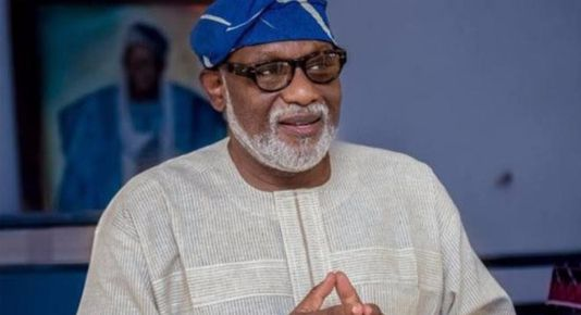 Image result for Governor Rotimi Akeredolu of Ondo State and chairman of the South-West Governors' Forum