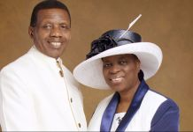 Pastor Enoch Adeboye and wife Folu Adeboye