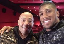 Anthony Joshua & Thiery Henry