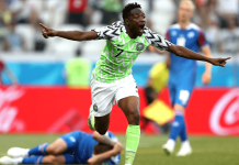 Ahmed Musa Super Eagles