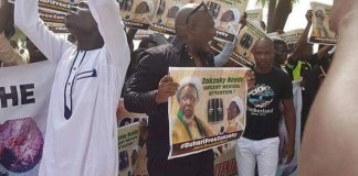 Charly Boy shiite protest