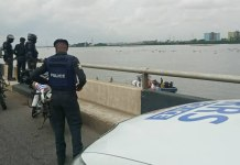 RRS officials after FRCN driver jumped into Lagos Lagoon