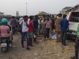 Truck kills sachet water hawker, child in Lagos