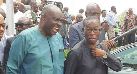 James Ibori and Ifeanyi Okowa