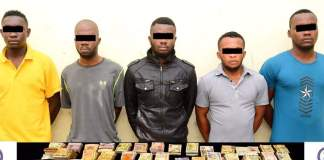 Five Nigerians arrested for robbery in UAE