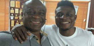 Obafemi Martins and RRS boss, Tunji Disu