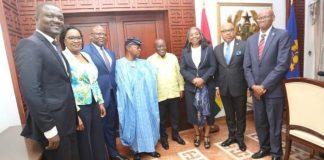 FBNHOLDINGS VISIT GHANA PRESIDENT, NANA AKUFO-ADDO