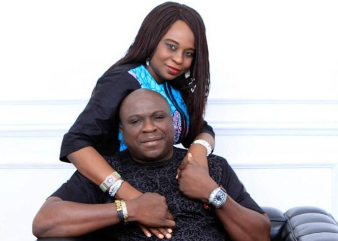 Gbenga Adeyinka and wife Abiola Adeyinka